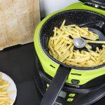 freidora sin aceite cecotec cecofry 4D cocinando patatas fritas