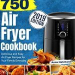 portada libro recetas freidora sin aceite 750 airfryer cookbook