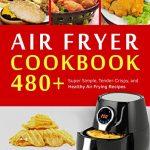 portada libro recetas freidora sin aceite air fryer cookbook