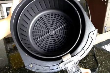 cajón de la freidora de aire mondial