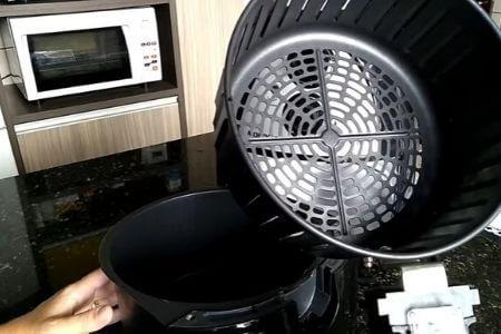 freidora sin aceite mondial cesto interior