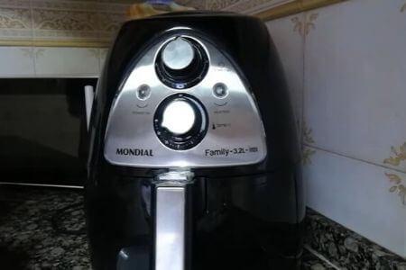 cuadro de mandos de la freidora sin aceite mondial