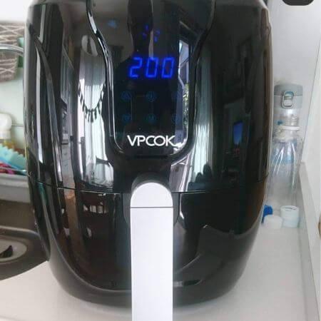 airfryer vpcok en cocina