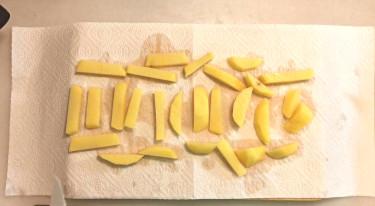 Boquerones con patatas y verduras con freidora sin aceite 2