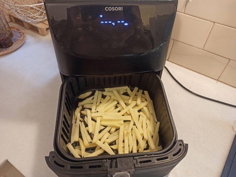 Patatas fritas perfectas con freidora sin aceite 8