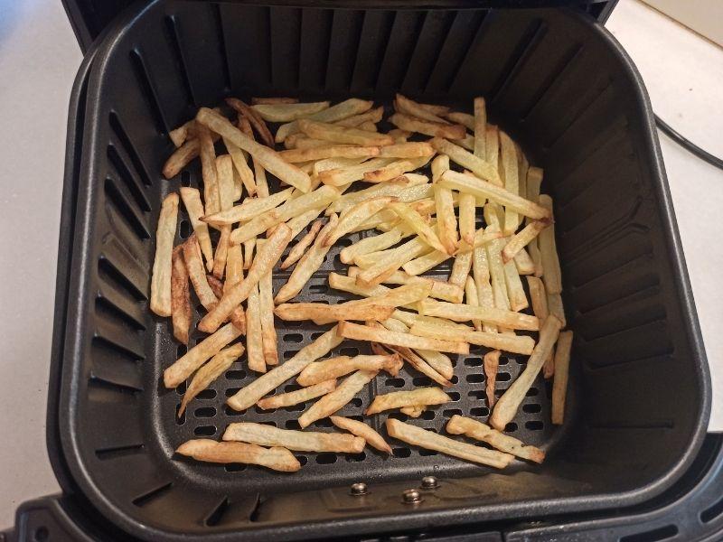 Patatas fritas perfectas con freidora sin aceite 9