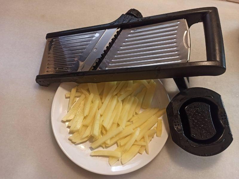 Patatas fritas perfectas con freidora sin aceite 3