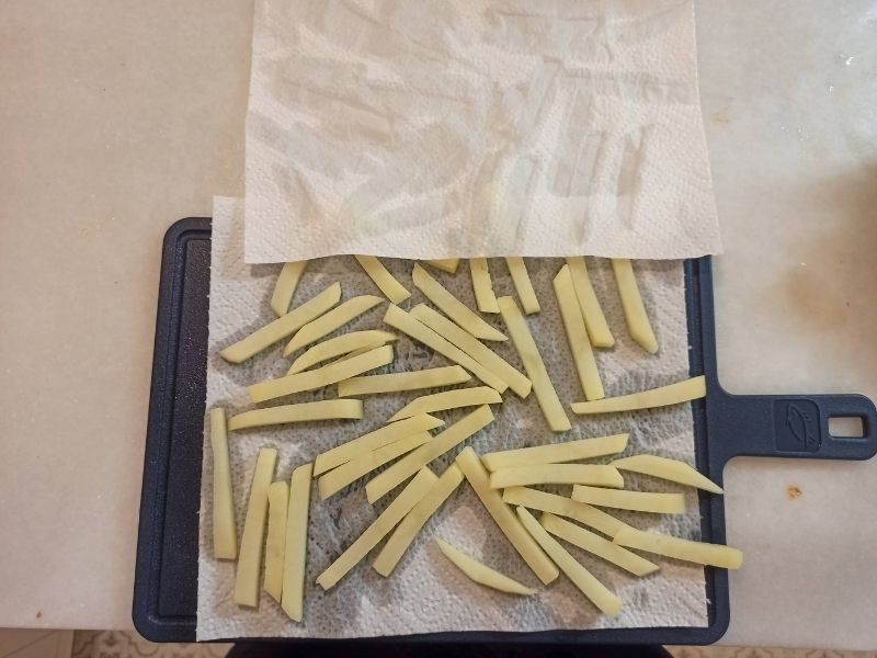 Patatas fritas perfectas con freidora sin aceite 5